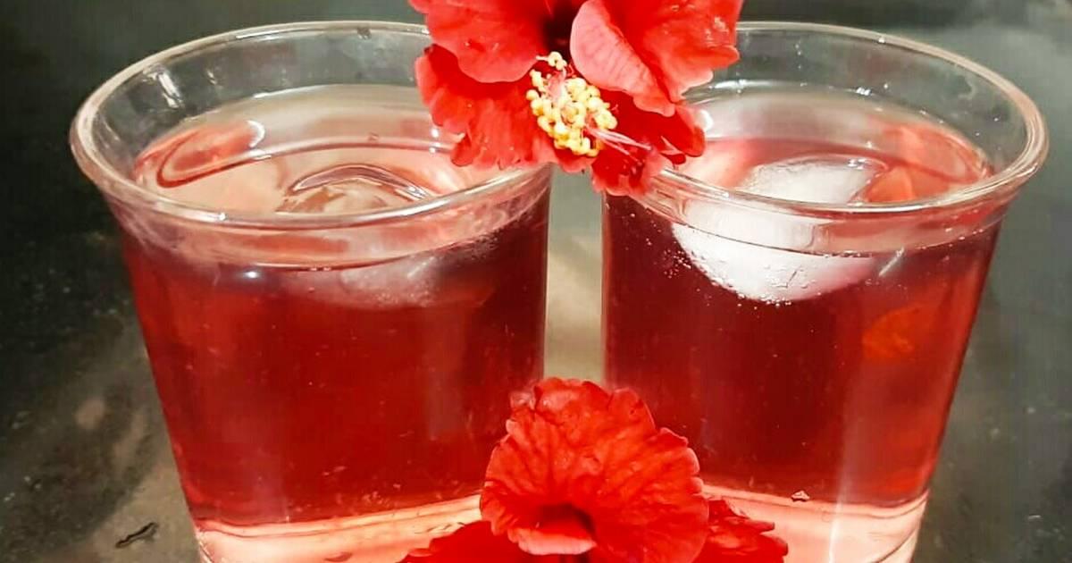 Hibiscus Flower Ice Tea Recipe By Sonal Modi Cookpad