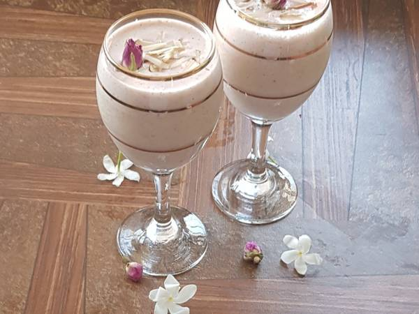 Rose Almond Lassi