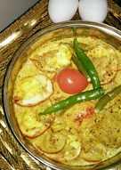 BhapaDim(steamed eggs)