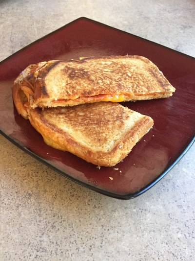 Crispy Grilled Cheese