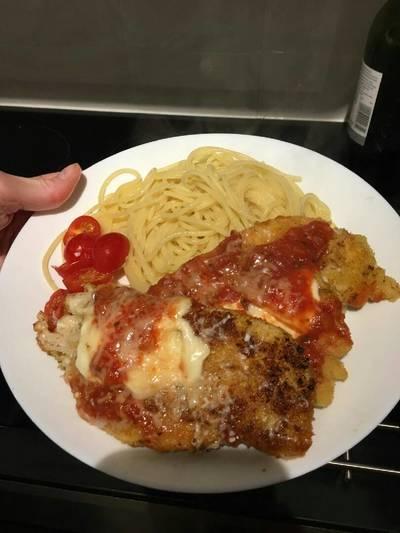 Ma's chicken parm