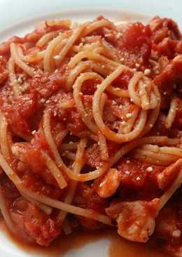 Vickys Bacon & Tomato Spaghetti, GF DF EF SF NF