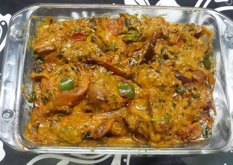 Peshawari Chicken Karahi Recipe by Kumkum Chatterjee