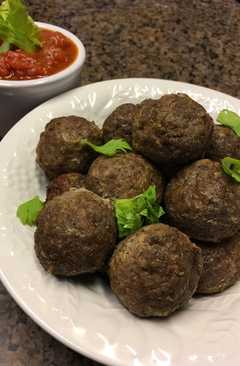 resep masakan italian meat balls