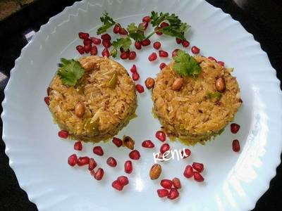 SweetPotato Poha/ Shakar kand ka Poha or Kees