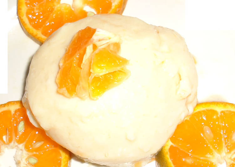 Orange lemon souffle
