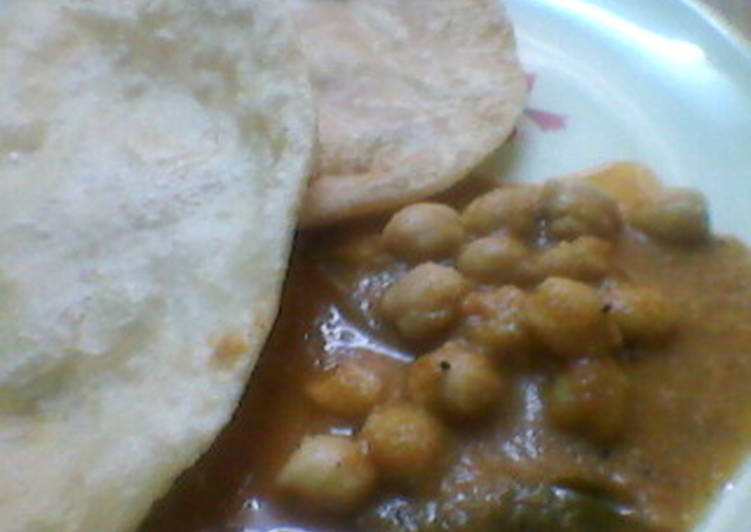 Spicy Channa Curry