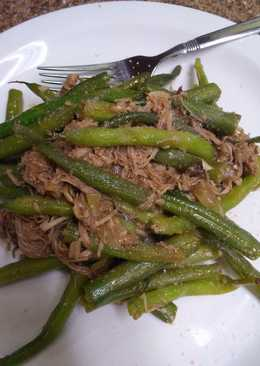 Asian Spiced Green Beans and Chicken