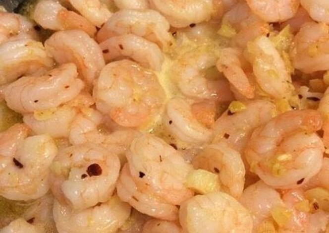 Resep Shrimp in garlic with spicy flavor!!!