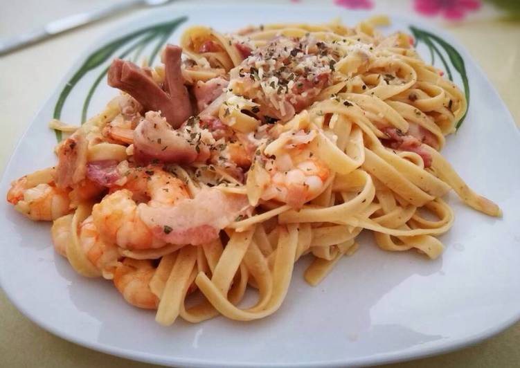 how to cook carbonara with bacon