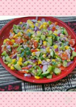 Colourful Creamy Salad