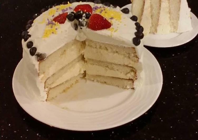 lemon whipped cream frosting recipe