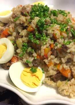 Mongolian Beef Rice (Plov)