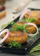 Healthy Chicken Shami Kebab
