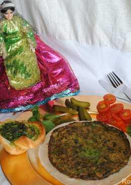 Persian frittata with herbs (Kookoo Sabzi)