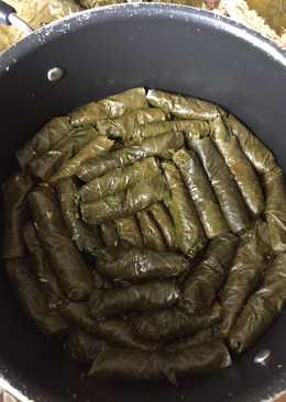 Warak Enab Grape Leaves Egyptian Style