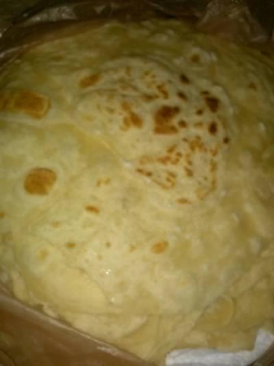 Tender flour tortilla