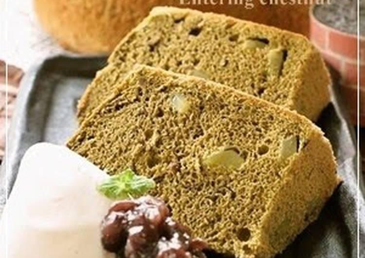 Japanese Chiffon Cake Recipe Matcha