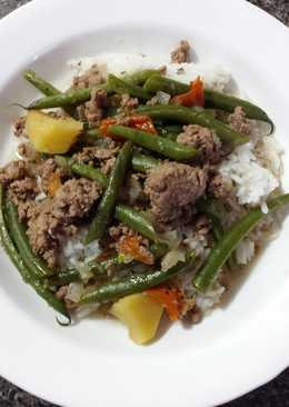 "Healthy Filipino Green Bean ""Stew"""