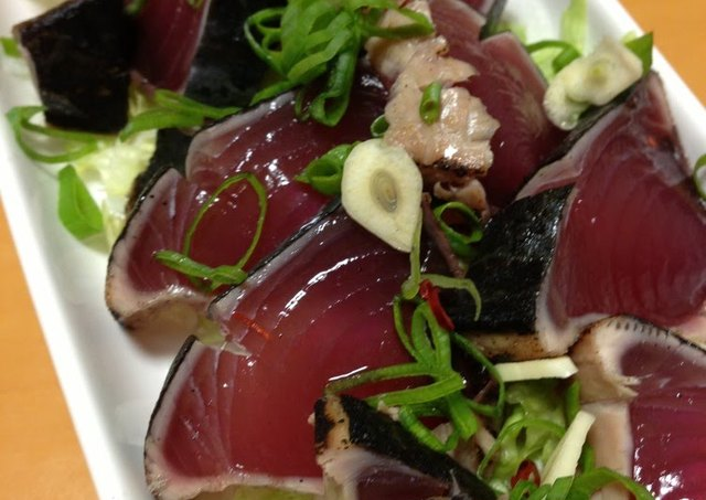 Seared Skipjack Tuna Wasabi and Ponzu Recipe by cookpad.japan ...