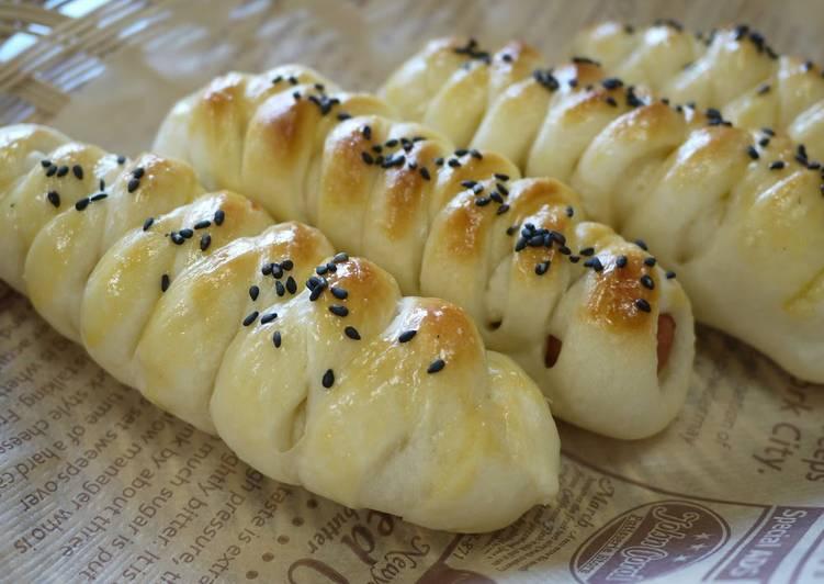 Sausage Bread Using a Bread Machine Recipe by cookpad ...