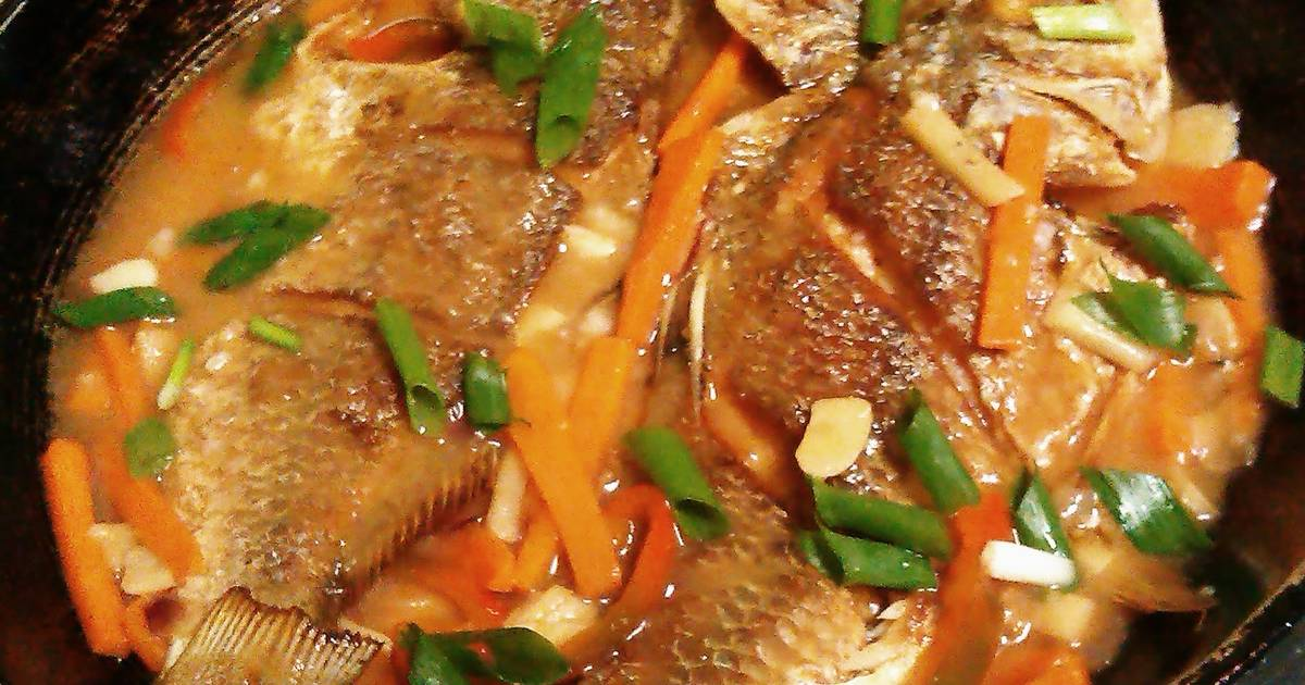 Sweet and sour fish recipes 54 recipes cookpad for Sweet and sour fish recipe