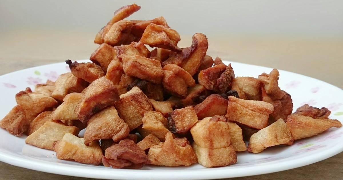 Deep Fried Pork Lard