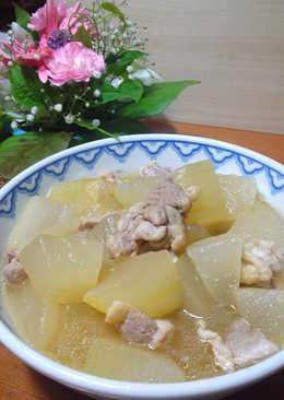 Winter Melon & Chicken Simmer, to Enjoy the Taste of Chicken