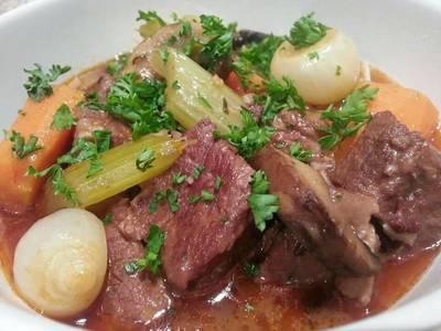 Beef Stew (Boeuf Bourguignon)