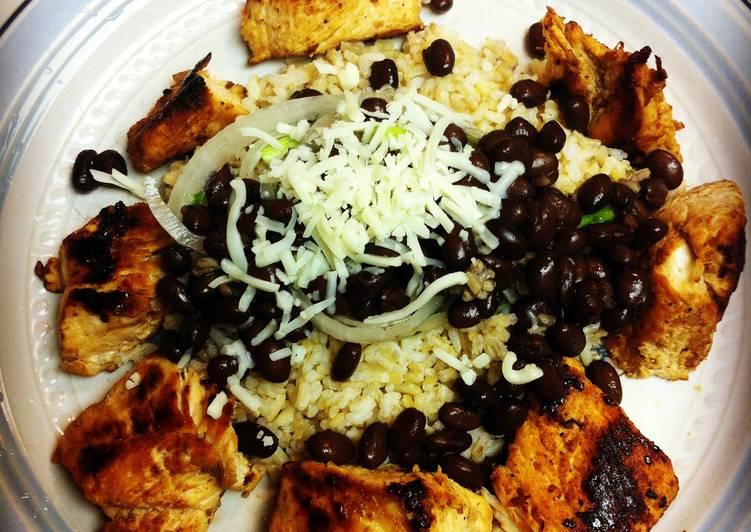 Pollo Y Frijoles Con Arroz Recipe By Lymon Simms