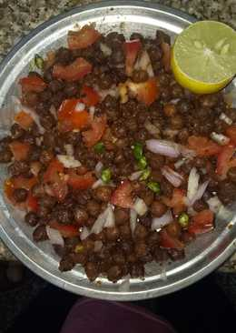Chana chat high  protein dish