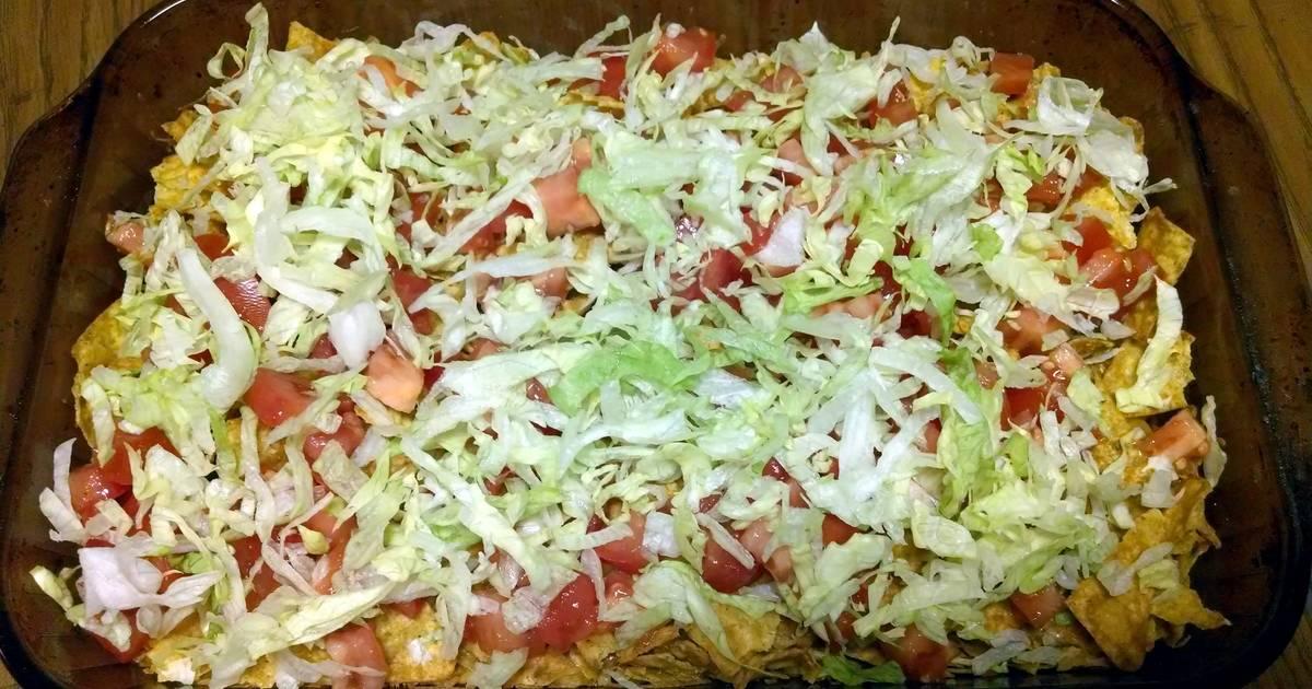 Taco dorito chicken casserole Recipe by Sarah M. Holtet