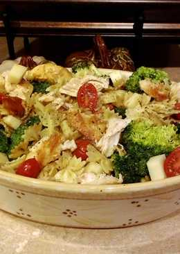Easy peasy leftovers pasta salad