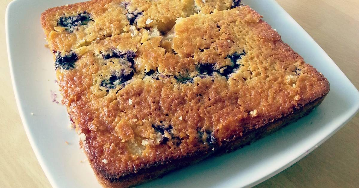 Adding Fresh Blueberries To Cake Mix