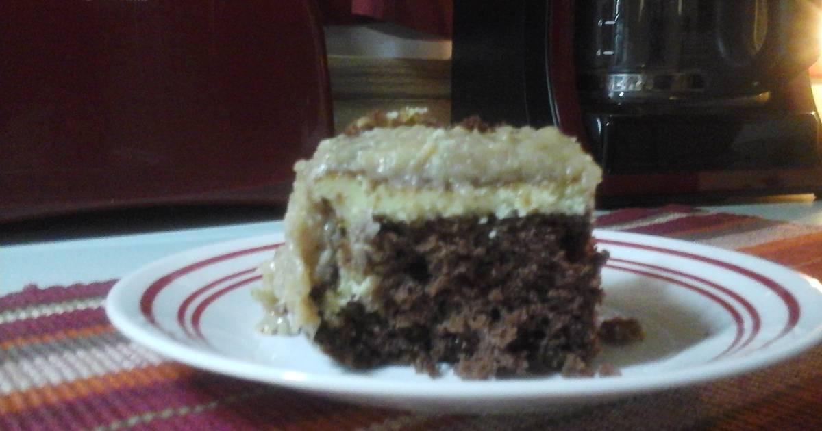 German Chocolate Cake Recipe Joy Of Baking: German Chocolate Cream Cheese Cake Recipe By Va Rose