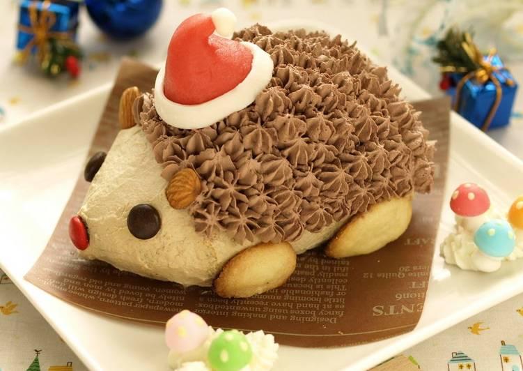 Japanese Christmas Cake.Hedgehog Christmas Cake Recipe By Cookpad Japan Cookpad India