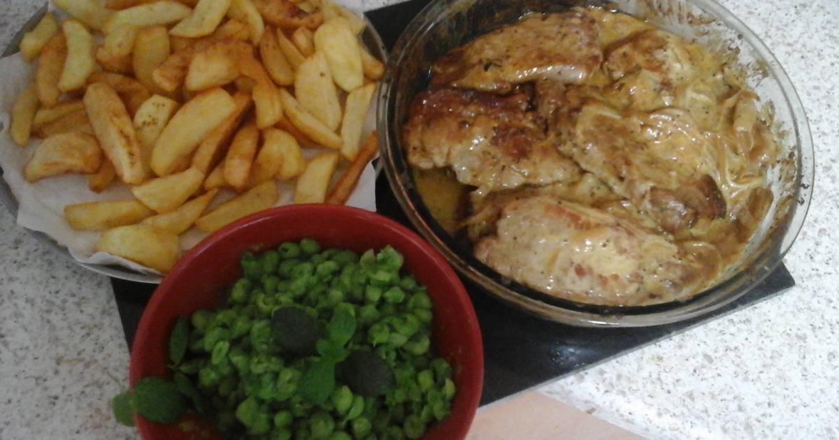 My Mustard & Apple Cider Pork Loin Chops 😀 Recipe by Maureen ...