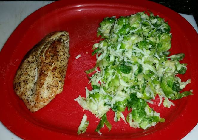 Resep Brussel Sprout Cole Slaw