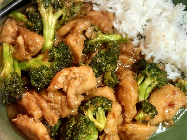 Easy Chicken with Broccoli