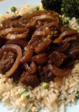 Vickys Slow-Cooker Mongolian-Style Beef, GF DF EF SF NF