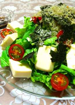 chilled tofu with crunchy baby sardines recipes dishmaps chilled tofu ...