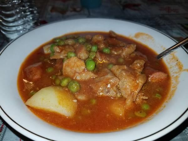 Pork & Shrimp Afritada