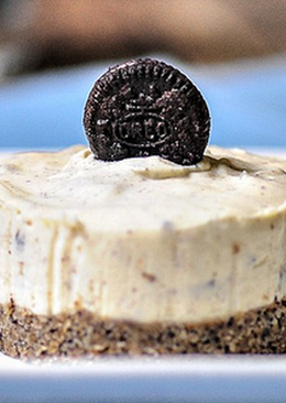 Eggless No-Bake Oreo Cheesecake