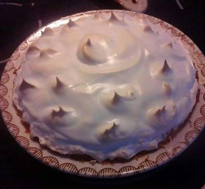 Lemon Meringue Pie with Gluten Free Coconut Crust