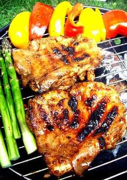 Jerk Chicken on the Barbecue