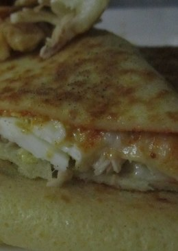 Savory pancake(crepe salé)