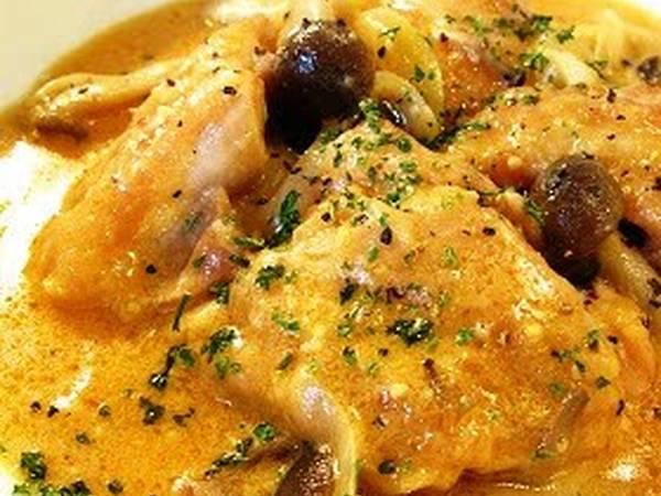 10 Minute Chicken Miso Cream Stew