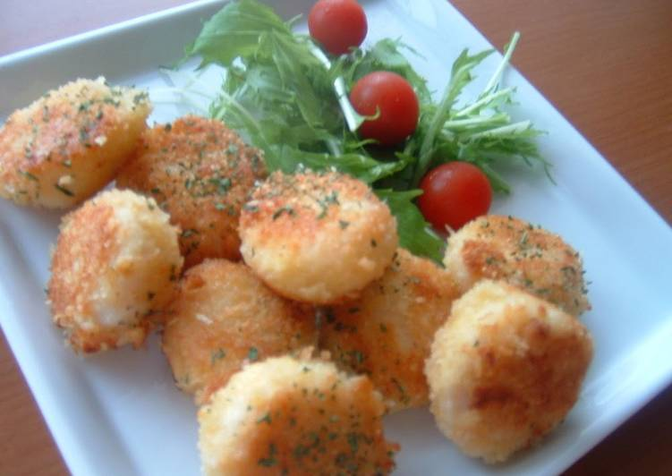 Scallops With Cheesy Panko Recipe By Cookpad Japan Cookpad