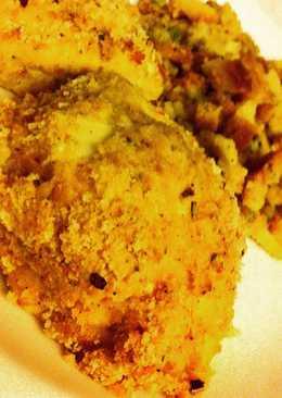 Italian Dressing Breaded Chicken
