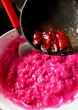 Beetroot Raita - Step by Step Recipe